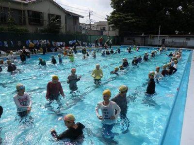 6年生 着衣泳 7月17日(水)