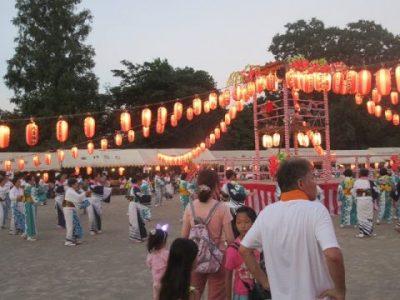 盆踊り大会開始 8月4日(日)