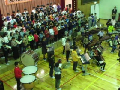 校内音楽会(11月22日)の動画