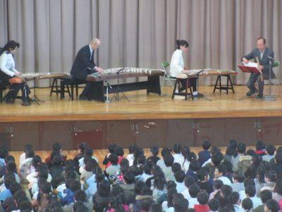 琴体験学習 5年生 1月21日(火)