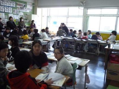 3年生4年生授業参観 2月21日(金)
