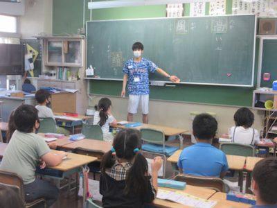 分散登校中の授業風景3