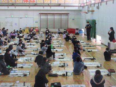 6年競書会 1月8日(金)