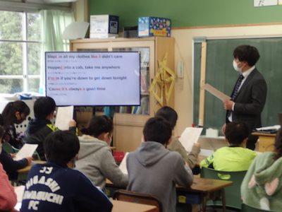 安行中学校の先生による出前授業 6年生 2月26日(金)