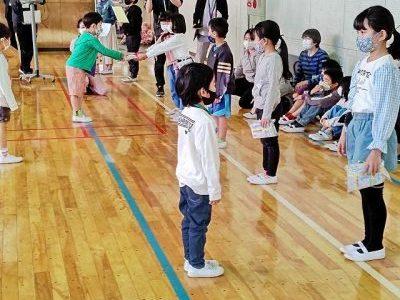 「ようこそ1年生」集会 4月27日(火)