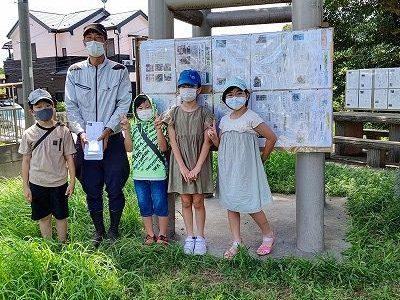 4年生総合「安行原の蛇造り」 沖田さんに子どもたちのお礼状を手渡しました(20)
