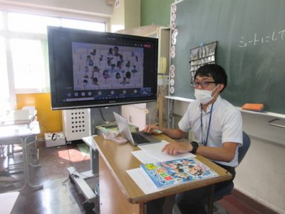 オンライン学活 8月27日(金)