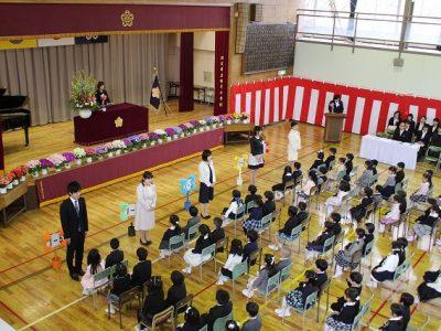 入学式 4月8日(月)
