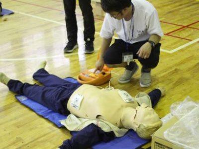 救命講習を行いました 5月28日(火)