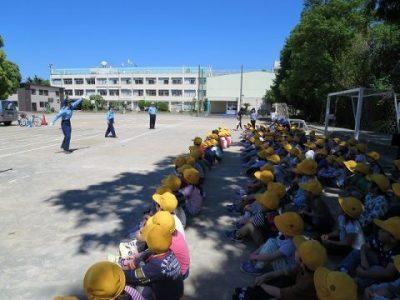交通安全教室(1年生&3年生)5月8日(水)
