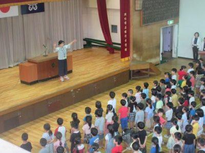 1学期終業式 7月19日(金)