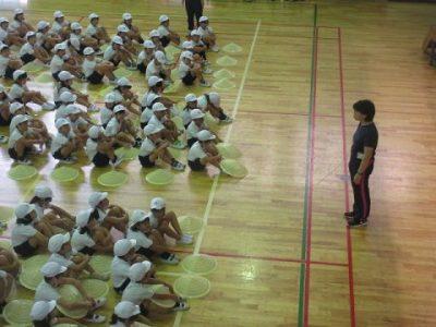 運動会に向けての練習 3年生