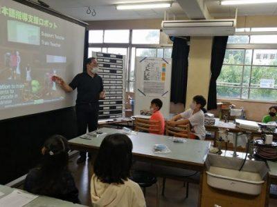 4年生 プログラミング授業への挑戦! 7月18日(金)