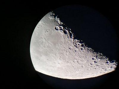 第2回天文教室 月 土星 木星を見よう 8月24日(月)