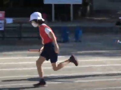 保護中: 安行小オリンピック なかよし学級リレー 応援 4年3組 動画掲載