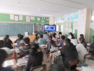 6年生 租税教室2月19日(金)