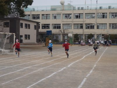 6年生 安小オリンピック2021 校庭の部 3月12日(金)