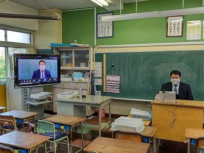 On-line懇談会 2年から6年生、なかよし学級