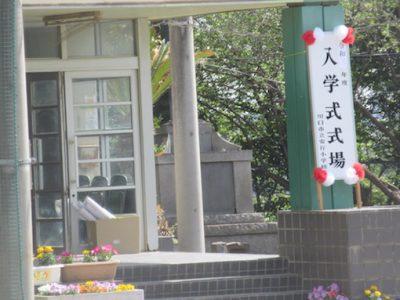 入学式写真 4月8日(木)