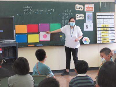 なかよし学級 外国語 色と形