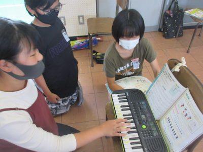 5年生 音楽 ミニキーボード