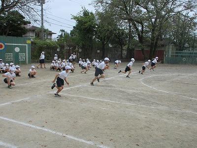 4年生 運動会の練習
